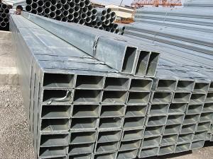 warm gedompelde gegalvaniseerde Reghoekige / Square staal pyp / buis / Hollow Artikel / SHS / RHS