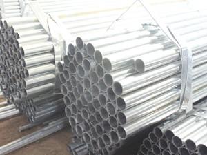 ਉਸਾਰੀ ਲਈ ਹਲਕੀ welded pregalvanized ਦੌਰ 'steelpipe