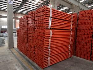 staal q235 gegalvaniseerde u kop bekisting steierwerk staal skoring stut