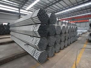 Izgradnja građevinskih materijala pocinčane čelične cijevi, pocinčani / Pregalvanized