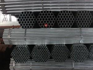 suvarma üçün Galvaniz polad boru / HDG Çelik roundsteel boru