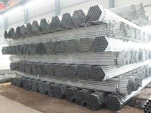 Carbon okrugli sekcija pregalvanized roundsteel cijev / Gi cijevi
